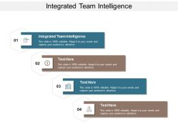 Integrated Team Intelligence Ppt Powerpoint Presentation Ideas Outfit Cpb