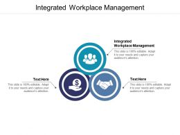 Integrated Workplace Management Ppt Powerpoint Presentation Visual Aids Ideas Cpb