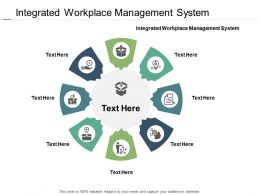 Integrated Workplace Management System Ppt Powerpoint Presentation Model Microsoft Cpb