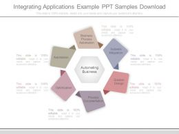 Integrating Applications Example Ppt Samples Download