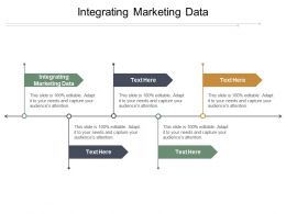 Integrating Marketing Data Ppt Powerpoint Presentation Gallery Slide Cpb