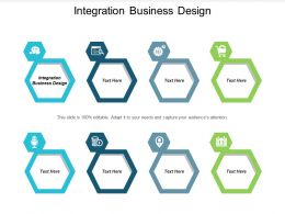 Integration Business Design Ppt Powerpoint Presentation Gallery Designs Download Cpb
