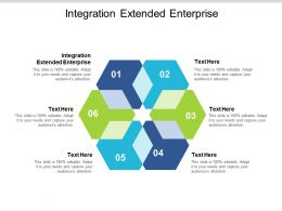 Integration Extended Enterprise Ppt Powerpoint Presentation Gallery Example Introduction Cpb