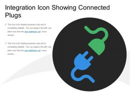 Integration Icon Showing Connected Plugs