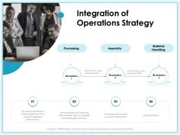Integration Of Operations Strategy M1991 Ppt Powerpoint Presentation Slides Sample