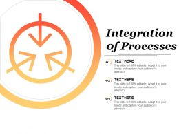 Integration Of Processes