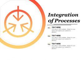 Integration Of Processes