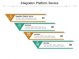 Integration Platform Service Ppt Powerpoint Presentation Inspiration Clipart Cpb