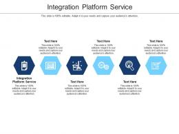 Integration Platform Service Ppt Powerpoint Presentation Portfolio Professional Cpb