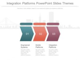 Integration Platforms Powerpoint Slides Themes