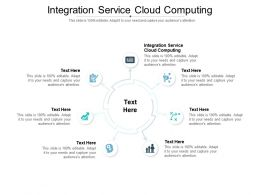 Integration Service Cloud Computing Ppt Powerpoint Presentation Ideas Show Cpb