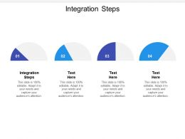 Integration Steps Ppt Powerpoint Presentation Icon Styles Cpb