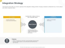 Integration Strategy Ppt Powerpoint Presentation Styles Demonstration