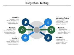 Integration Testing Ppt Powerpoint Presentation Icon Ideas Cpb