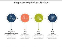 Integrative Negotiations Strategy Ppt Powerpoint Presentation Gallery Portrait Cpb