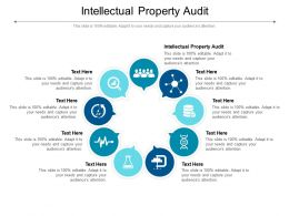 Intellectual Property Audit Ppt Powerpoint Presentation Infographic Template Layout Ideas Cpb