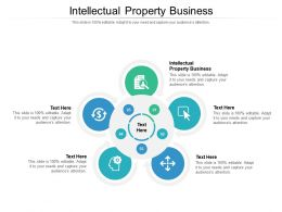Intellectual Property Business Ppt Powerpoint Presentation Inspiration Shapes Cpb