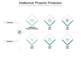Intellectual Property Protection Ppt Powerpoint Presentation Infographic Template Outline Cpb