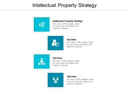 Intellectual Property Strategy Ppt Powerpoint Presentation Styles Slideshow Cpb