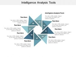 Intelligence Analysis Tools Ppt Powerpoint Presentation Model Infographics Cpb