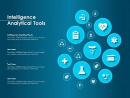 Intelligence Analytical Tools Ppt Powerpoint Presentation Pictures