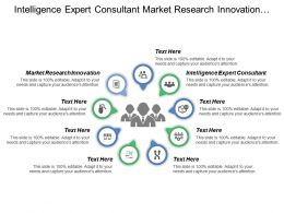 Intelligence Expert Consultant Market Research Innovation Customer Segmentation