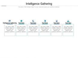 Intelligence Gathering Ppt Powerpoint Presentation Professional Example File Cpb