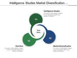 Intelligence Studies Market Diversification Segmentation Studies Existing Marketing