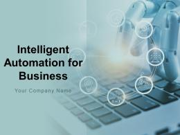 Intelligent Automation For Business Powerpoint Presentation Slides
