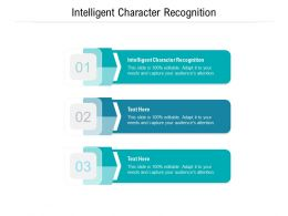 Intelligent Character Recognition Ppt Powerpoint Presentation Ideas Graphic Images Cpb