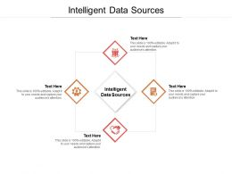 Intelligent Data Sources Ppt Powerpoint Presentation Gallery Graphics Tutorials Cpb