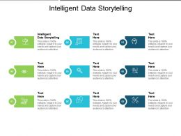 Intelligent Data Storytelling Ppt Powerpoint Presentation Infographic Template Background Designs Cpb