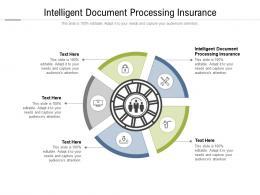 Intelligent Document Processing Insurance Ppt Powerpoint Presentation Cpb
