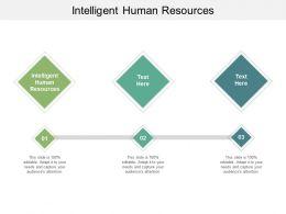 Intelligent Human Resources Ppt Powerpoint Presentation Summary Gridlines Cpb