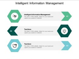Intelligent Information Management Ppt Powerpoint Presentation Styles Slideshow Cpb
