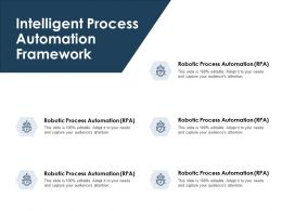 Intelligent Process Automation Framework Planning Ppt Powerpoint Presentation File