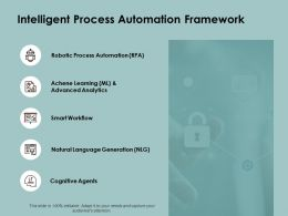 Intelligent Process Automation Framework Security A136 Ppt Powerpoint Presentation Layouts