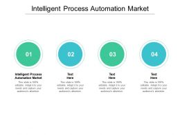 Intelligent Process Automation Market Ppt Powerpoint Presentation Outline Slides Cpb