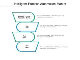 Intelligent Process Automation Market Ppt Powerpoint Presentation Outline Slides Cpb