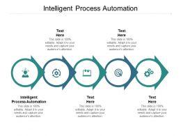 Intelligent Process Automation Ppt Powerpoint Presentation Portfolio Slides Cpb