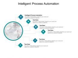 Intelligent Process Automation Ppt Powerpoint Presentation Slides Portfolio Cpb