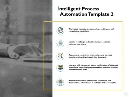 Intelligent Process Automation Template Accountable Ppt Powerpoint Presentation File Files