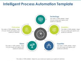 Intelligent Process Automation Template Ppt Visual Aids Inspiration