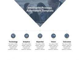 Intelligent Process Automation Template Technology Analytics Ppt Powerpoint Presentation Gallery Deck