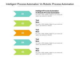 Intelligent Process Automation Vs Robotic Process Automation Ppt Powerpoint Presentation Cpb