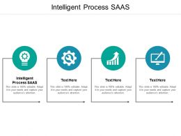 Intelligent Process SAAS Ppt Powerpoint Presentation Outline Icons Cpb