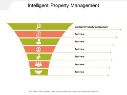 Intelligent Property Management Ppt Powerpoint Presentation Outline Professional Cpb
