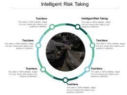 Intelligent Risk Taking Ppt Powerpoint Presentation Slides Slideshow Cpb