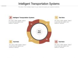 Intelligent Transportation Systems Ppt Powerpoint Presentation Model Introduction Cpb
