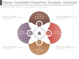 Intense Competition Powerpoint Templates Download